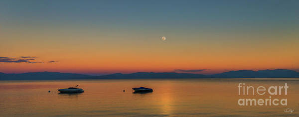 Wall Art - Photograph - Moon Rise Over Tahoe by Vance Fox