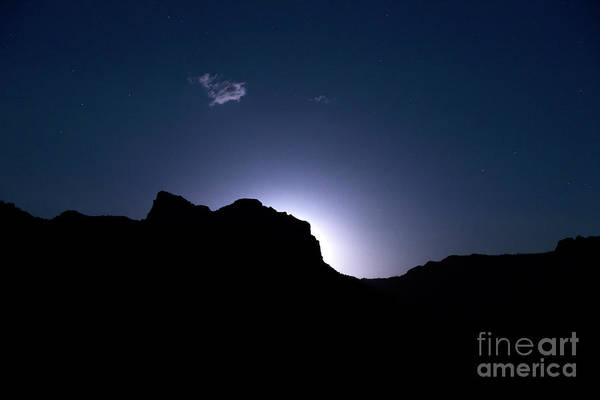 Moonrise Photograph - Moon Rising by Diane Diederich