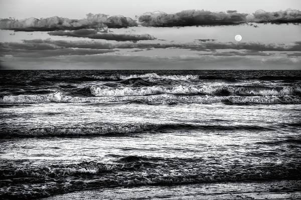 Ormond Photograph - Moon Rising  by Louis Ferreira