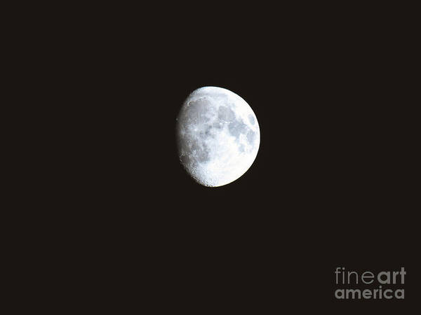 Photograph - Moon Shot 8 by Robert Knight