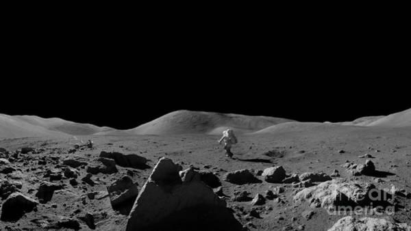 Apollo Wall Art - Photograph - Moon Walk by Jon Neidert