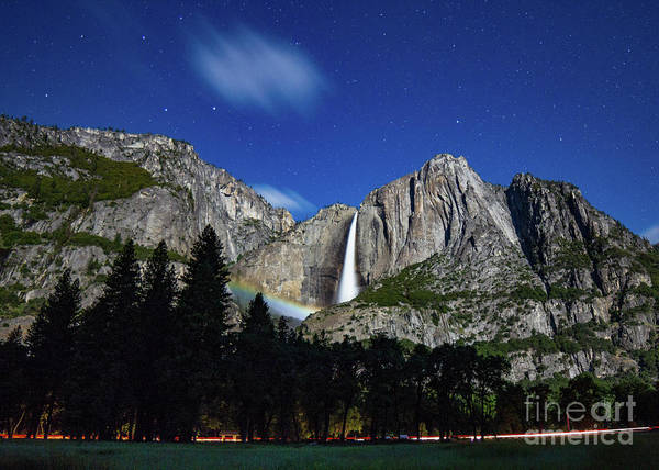 Photograph - Moonbow And Louds  by Brandon Bonafede