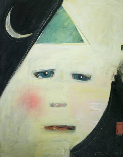 Painting - Moonboy by Tim Nyberg