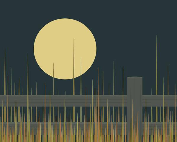 Digital Art - Moonglow by Val Arie