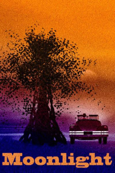 Mixed Media - Moonlight by Bob Orsillo