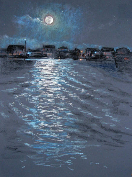 Painting - Moonlight by Christopher Reid