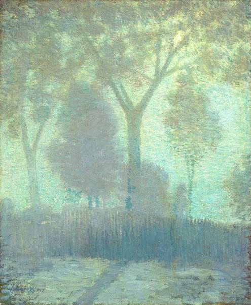 Painting - Moonlight by Julian Alden Weir