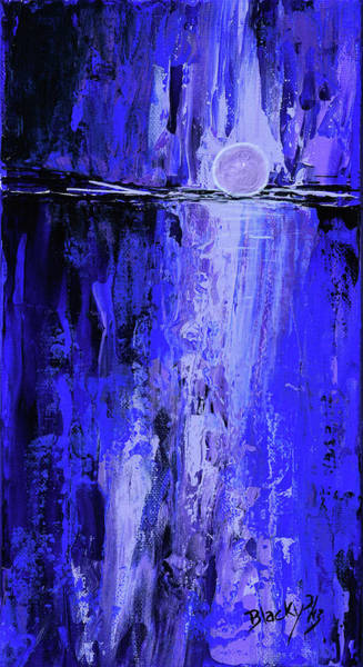 Wall Art - Painting - Moonlight Madness by Donna Blackhall
