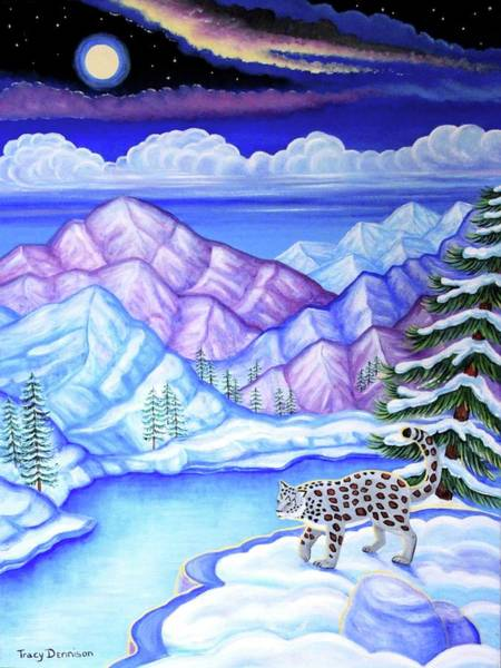 Painting - Moonlight Magic by Tracy Dennison