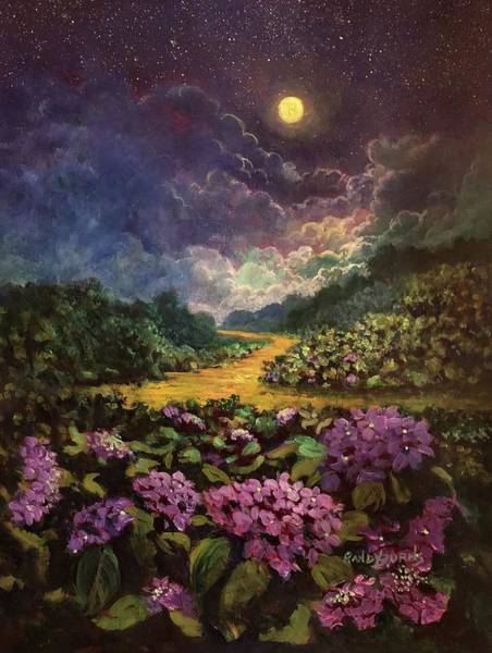 Painting - Moonlight Memories by Randy Burns