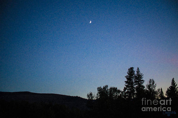Photograph - Moonlight Mirage Methow Valley Landscapes By Omashte by Omaste Witkowski