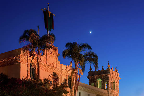 Photograph - Moonlight Over Balboa by TM Schultze