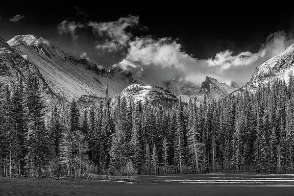 Wall Art - Photograph - Moonlight Over The Rockies by Eric Glaser