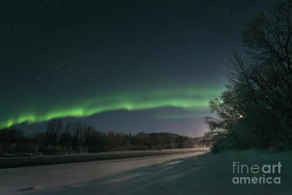 Wall Art - Photograph - Moonlight Aurora 2 by Priska Wettstein