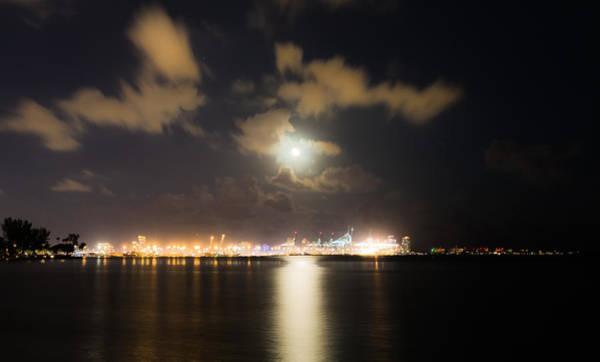 Moonlight Reflections Art Print