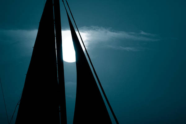 Photograph - Moonlight Sail by Susanne Van Hulst