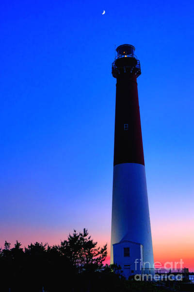 Barnegat Lighthouse Photograph - Moonlight Serenade At Old Barney by Olivier Le Queinec