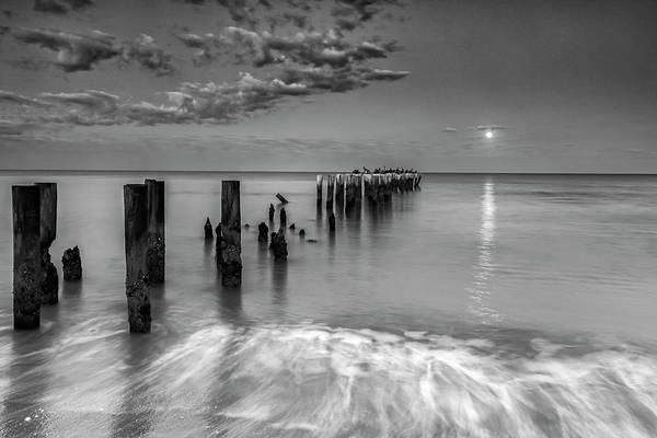 Naples Photograph - Moonlight Serenade by Mike Lang