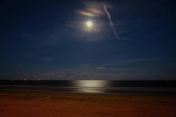 Wall Art - Photograph - Moonlit Bay by Tom Weisbrook