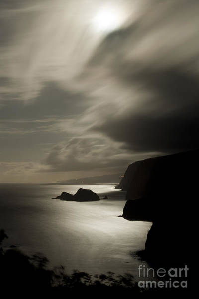 Photograph - Moonrise At Pololu Lookout by Charmian Vistaunet