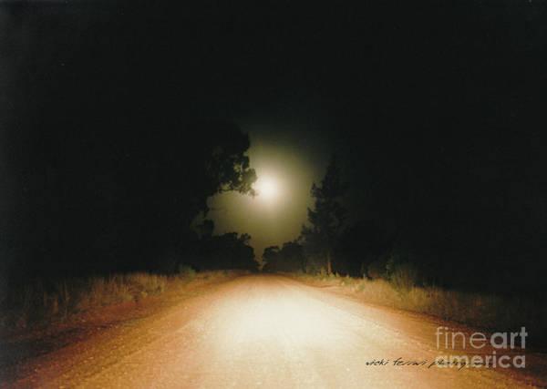 Photograph - Moonrise On Melrose by Vicki Ferrari