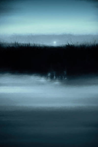 Wall Art - Photograph - Moonrise On The Water by Scott Norris