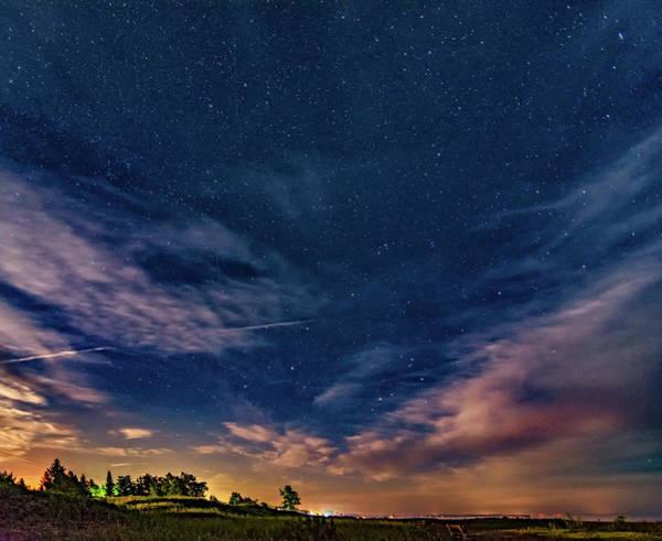 Sauble Beach Photograph - Moonrise Over Sauble Beach by Steve Harrington