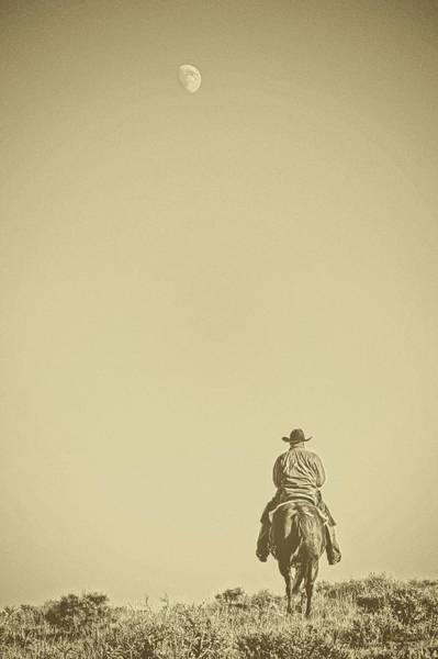 Photograph - Moonrise Ride by Amanda Smith