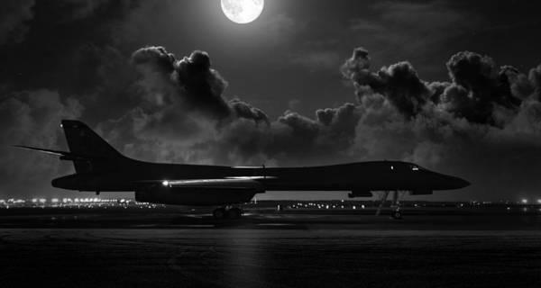 Supersonic Speed Wall Art - Digital Art - Moonstruck by Peter Chilelli
