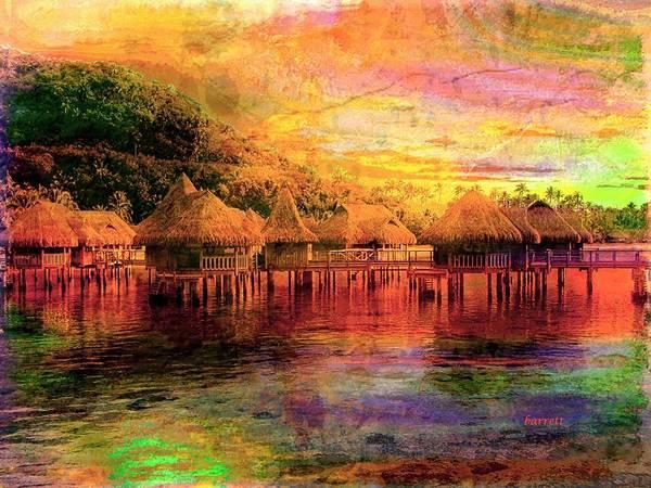 Wall Art - Painting - Moorea Paradise On Earth by Don Barrett