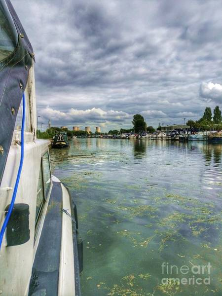 Photograph - Moored At The Marina by Abbie Shores