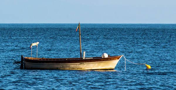 Photograph - Moored Boat by Matt Swinden
