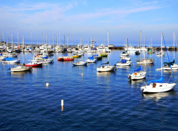 Photograph - Moored Boats by Pacific Northwest Imagery