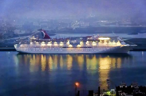 Ensenada Photograph - Moored In Ensenada Harbor by Claude LeTien