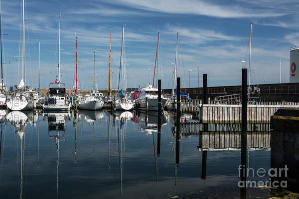 Wall Art - Photograph - Moored Yachts, Skagen, Denmark by Sheila Smart Fine Art Photography