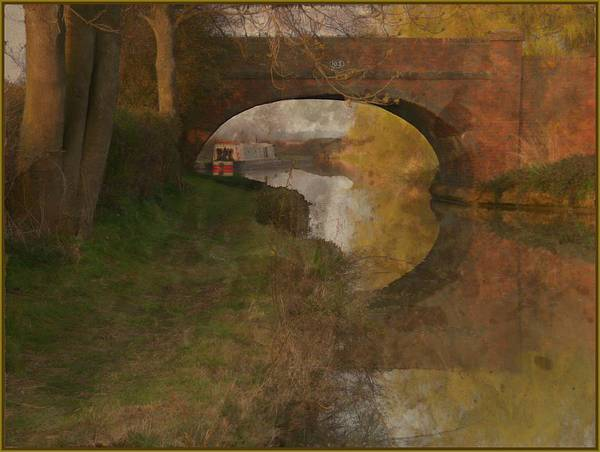 Wall Art - Photograph - Mooring Oxfordshire by Mindy Newman