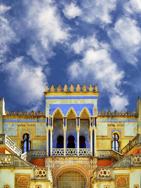 Photograph - Moorish Villa At Santa Cesarea Terme by Dominic Piperata