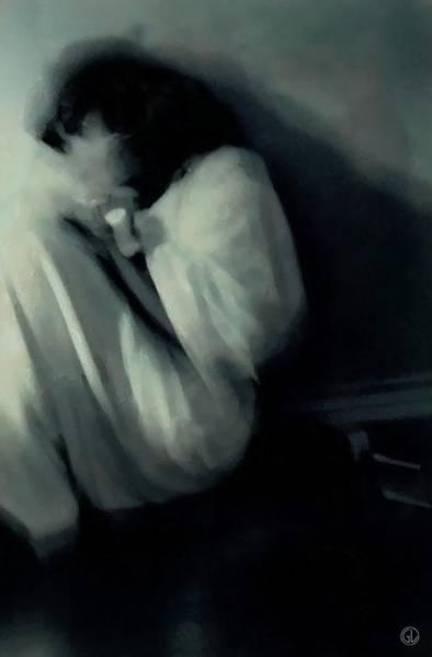 Crouching Digital Art - Morning Mood by Gun Legler
