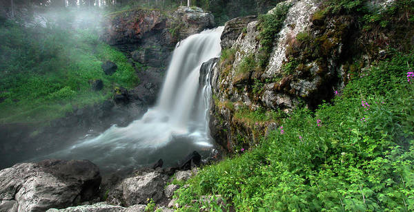 Photograph - Moose Falls by Ronnie and Frances Howard