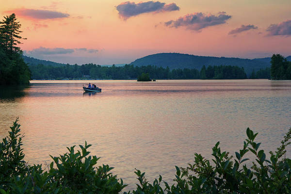 Photograph - Moose Pond Bridgton by Darylann Leonard Photography
