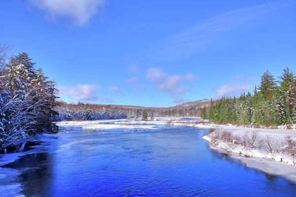 Photograph - Moose River In February by David Patterson