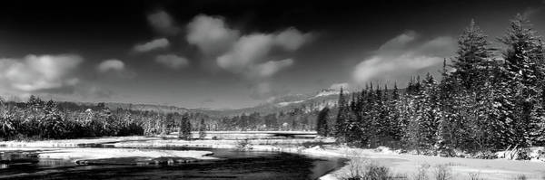 Photograph - Moose River Snowscape by David Patterson