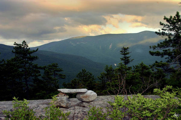 Photograph - Moosilaukee View From Bench On Blueberry Mt. by Wayne King