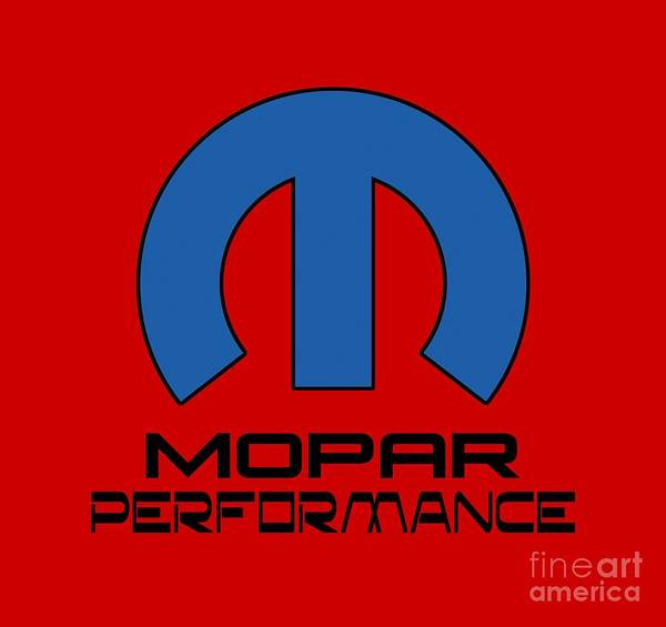 Truck Digital Art - Mopar Performance by Jerry Dyl