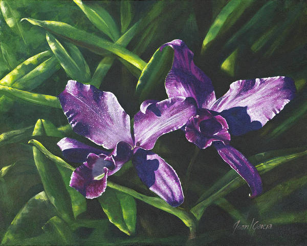 Painting - Morada Morning by Joan Garcia