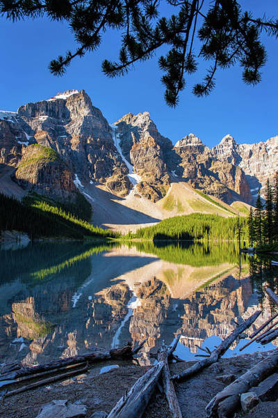 Photograph - Moraine Frame by Michael Blanchette