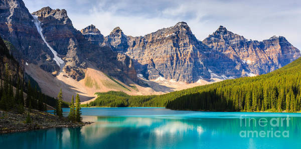 Meijer Wall Art - Photograph - Moraine Lake, Canada by Henk Meijer Photography
