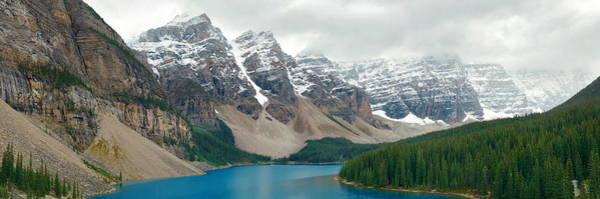 Photograph - Moraine Lake by Songquan Deng