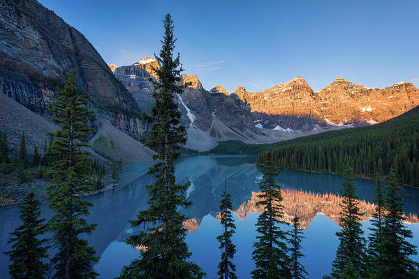 Photograph - Moraine Sunrise by Michael Blanchette