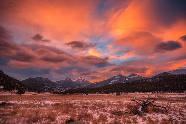 Colorado Sunrise Photograph - Morain's Sunrise by Darren White